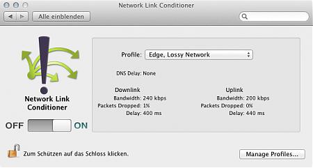 Network Link Conditioner